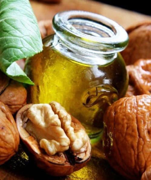 Компрес з листя, шкаралупи і перегородок волоського горіха