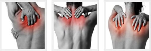Біль в верхній частині спини