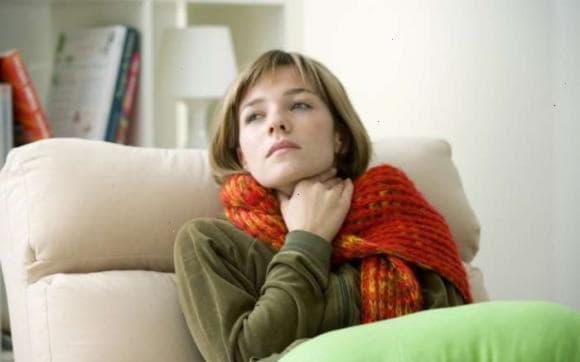 Компрес на горло та вухо - проти болю дитині і дорослому