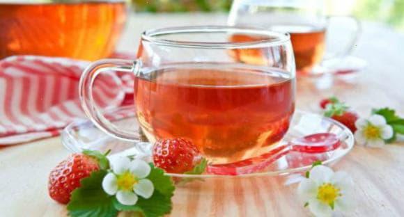 Чай з листя суниці