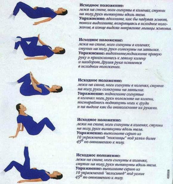 Гимнастика для беременных от отеков 2 триместр 47
