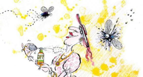 Укус мошки чим лікувати і як зняти набряк